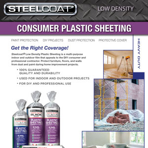 Low Density Consumer Plastic Sheeting