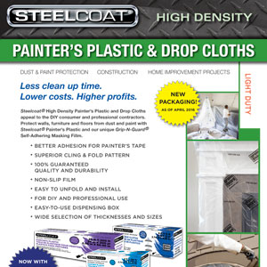 HDPE Painter's Plastic and Drop Cloths
