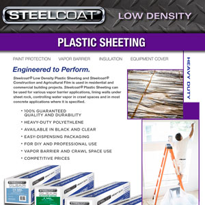Low Density Plastic Sheeting
