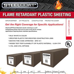 Flame Retardant Plastic Sheeting