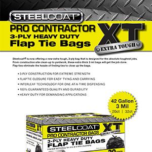 Pro Contractor XT Flap Tie Bags